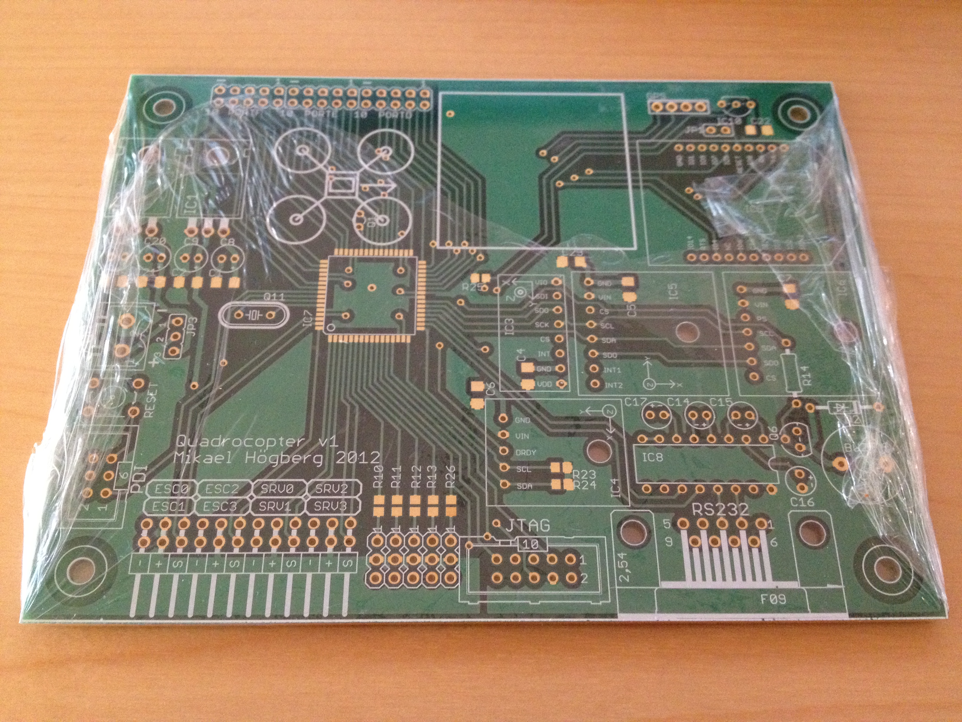 PCB from Olimex