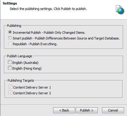 Patched Publishing Dialog