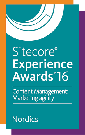 Sitecore Experience Award 2016, Marketing Agility